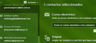 enviar un correo a multiples contactos en yahoo mail