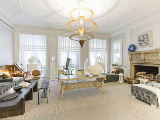 photos of Aby Rosen's manhattan townhouse mansion property of qatar prime minister