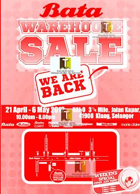 Bata Warehouse Sale 2012