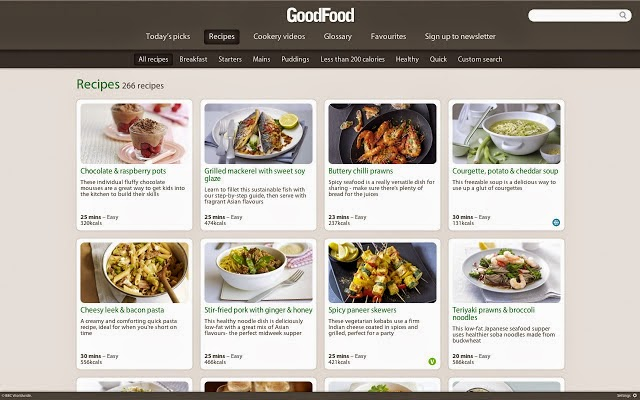 Best chrome apps and extensions for foodies techsource the app also has full featured videos that help you cook up any dish you want forumfinder Image collections