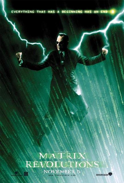 The Matrix Revolutions...