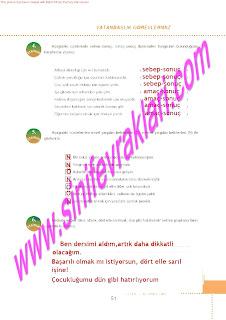 6.Sinif  Turkce Doku Yayinlari Ogrenci Calisma Kitabi Sayfa 51