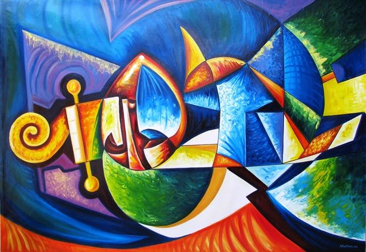 De lo abstracto y la imaginaci n tableronne for Imagenes de cuadros abstractos faciles