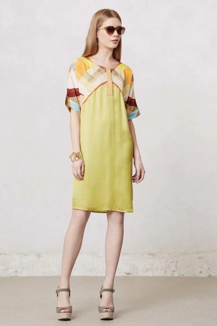 geo tunic dress
