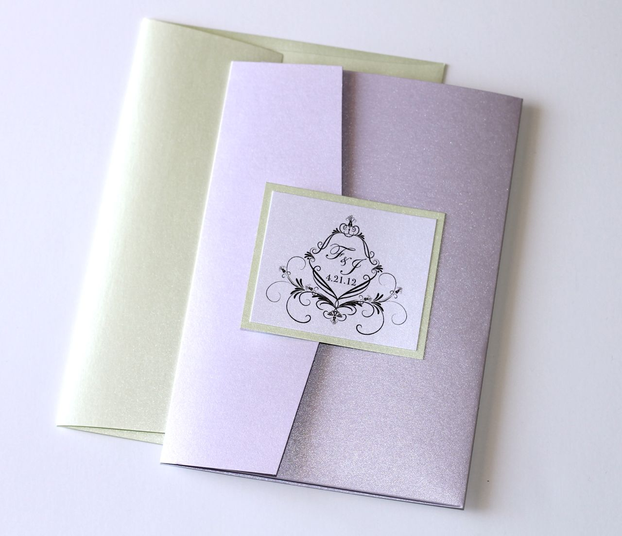 mint mint green and purple wedding