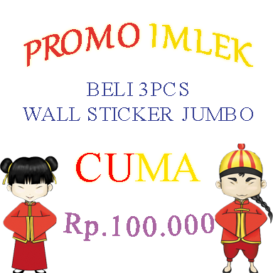 PROMO WALL STICKER