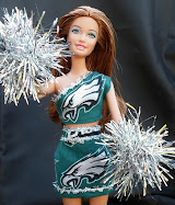 diy barbie blog: cheerleader pom-poms