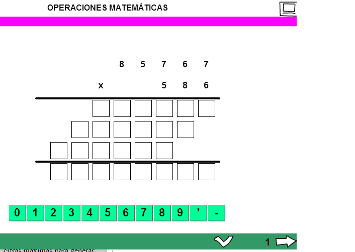PRACTICA CÁLCULO ON-LINE