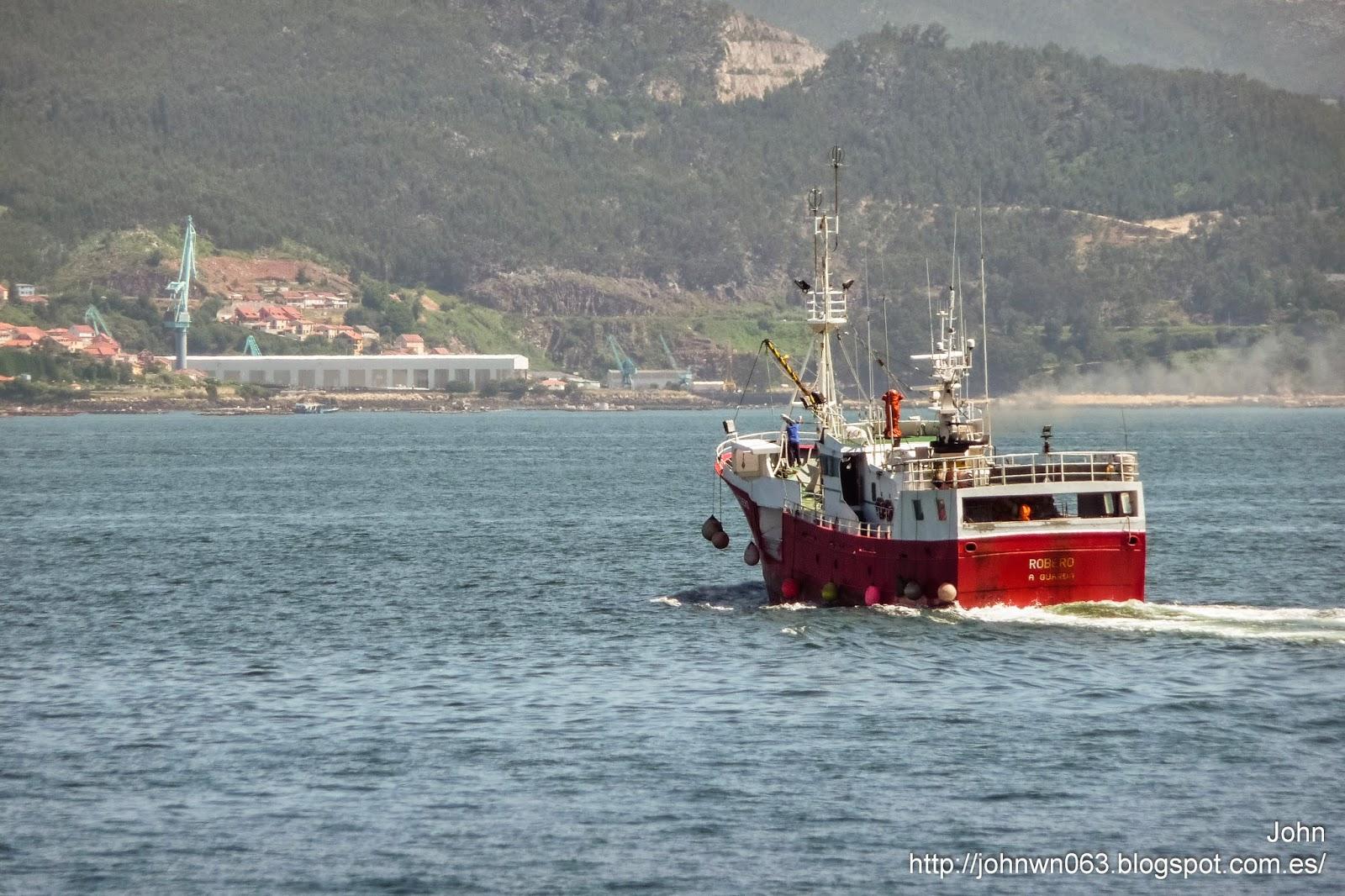fotos de barcos, imagenes de barcos, robero, a guarda, vigo, pesquero