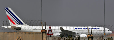 Air France_A330-200 F-GZCB Aircraft_On_Ground Grounded Bangalore Bengaluru International Airport BLR VOBL technical glitch
