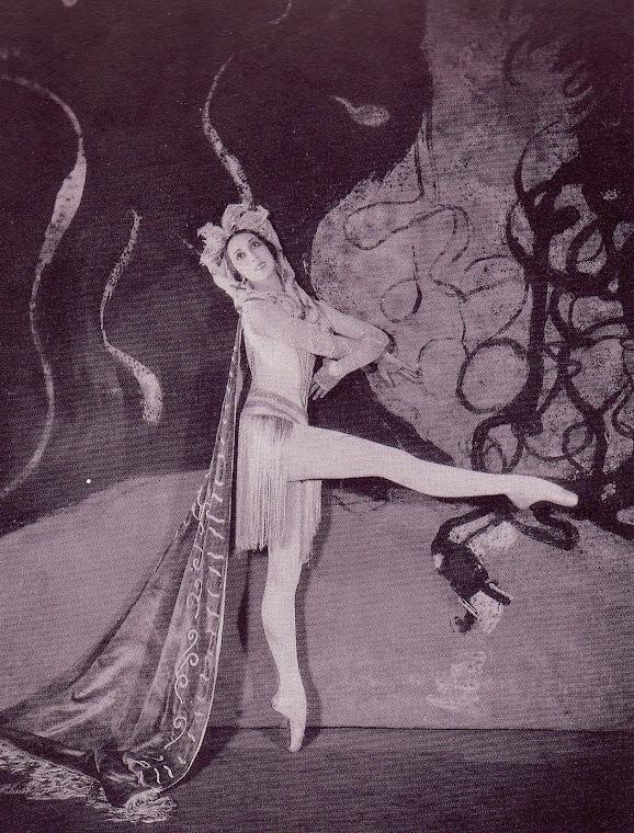 A bailarina Félia DUBROVSKA.