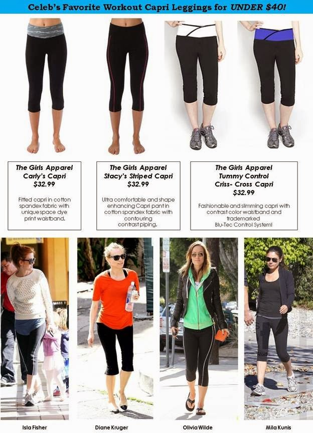 Leggings Loved by Celebrities