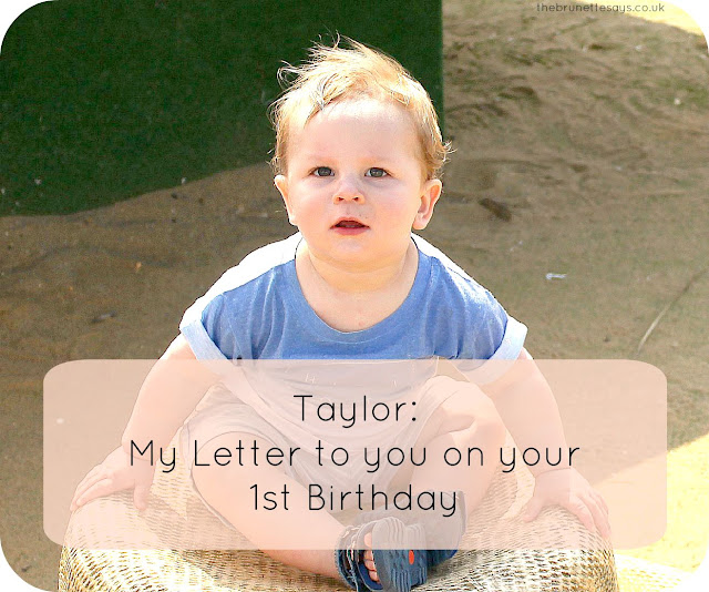 1st birthday, letter on 1st birthday