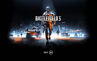 Battlefield 3 Flaming Soldier HD Wallpaper