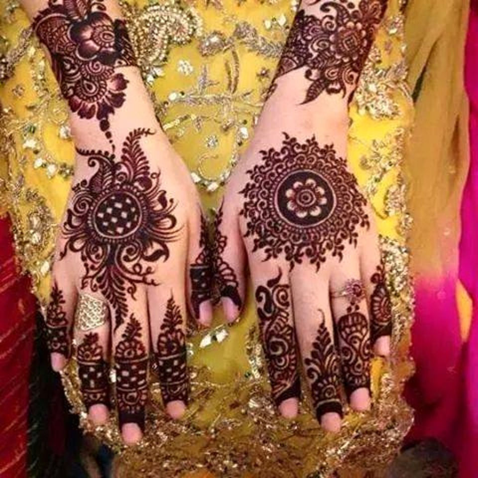 Bridal Mehndi Themes : Best mehndi designs ideas for bridal wallpaper free