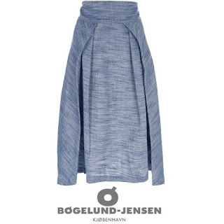 Princess Mary Style - BOGELUND-JENSEN Double Pleated Skirt