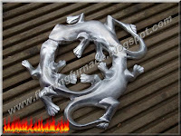 sand casting aluminum lizard