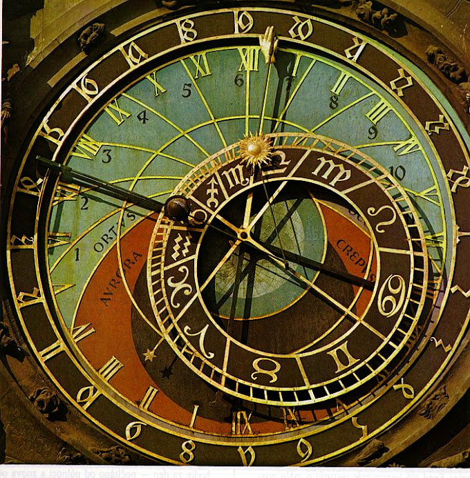 A Unique Geocentric Clock of Prague