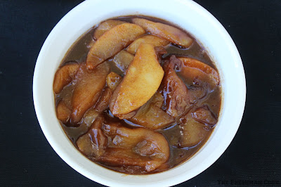 apples, granny smiths, cinnamon, dark brown sugar, fall side dish, side dish, Thanksgiving, harvest