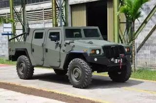 Komodo.., Mobil tempur buatan Bandung....!!!