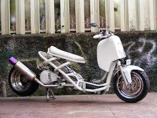 Foto Modifikasi Lowrider Yamaha Mio Terbaru