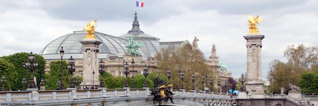 Puente de Alejandro III y Gran Palacio de París