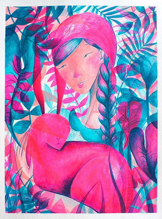 Ilustración de Camila Bernal