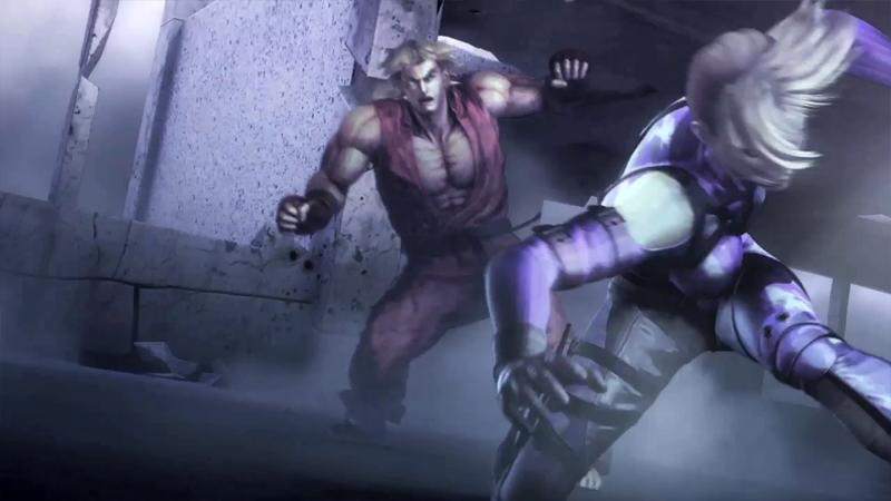 Tekken Nina SFxTK CGI Movie