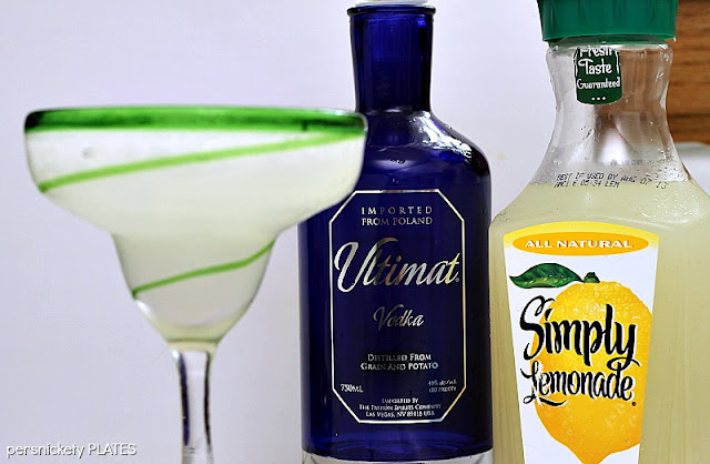 Ultimate Lemonade - a vodka lemonade slushy