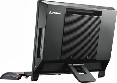 задняя сторона моноблока Lenovo IdeaCentre S310