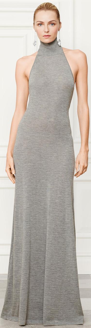 Ralph Lauren Cashmere Dress Fall 2014 Collection