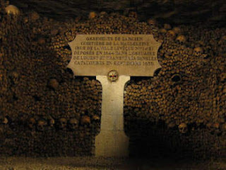 Catacomb Paris (Paris, Prancis)