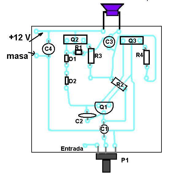 Circuito De Amplificador De Audio De 1000w Pdf : Amplificadores de audio amplificador con tip y