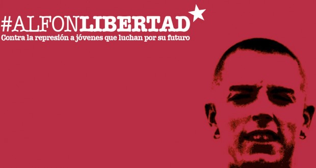 Comienza la semana de lucha para exigir la libertad de Alfon