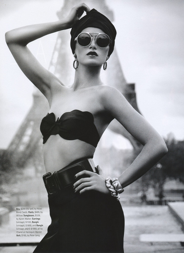3%2Bby%2BPaul%2BScala stylist%2BRachel%2BWayman model%2BSvetlana%2BKozelkova Madison%2BAU%2BMarch%2B2011 dustjacketattic.blogspot.com French Chic