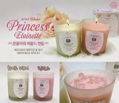 lilin aromatherapy, princess etoinette limited, jual etude murah, jual etude semarang