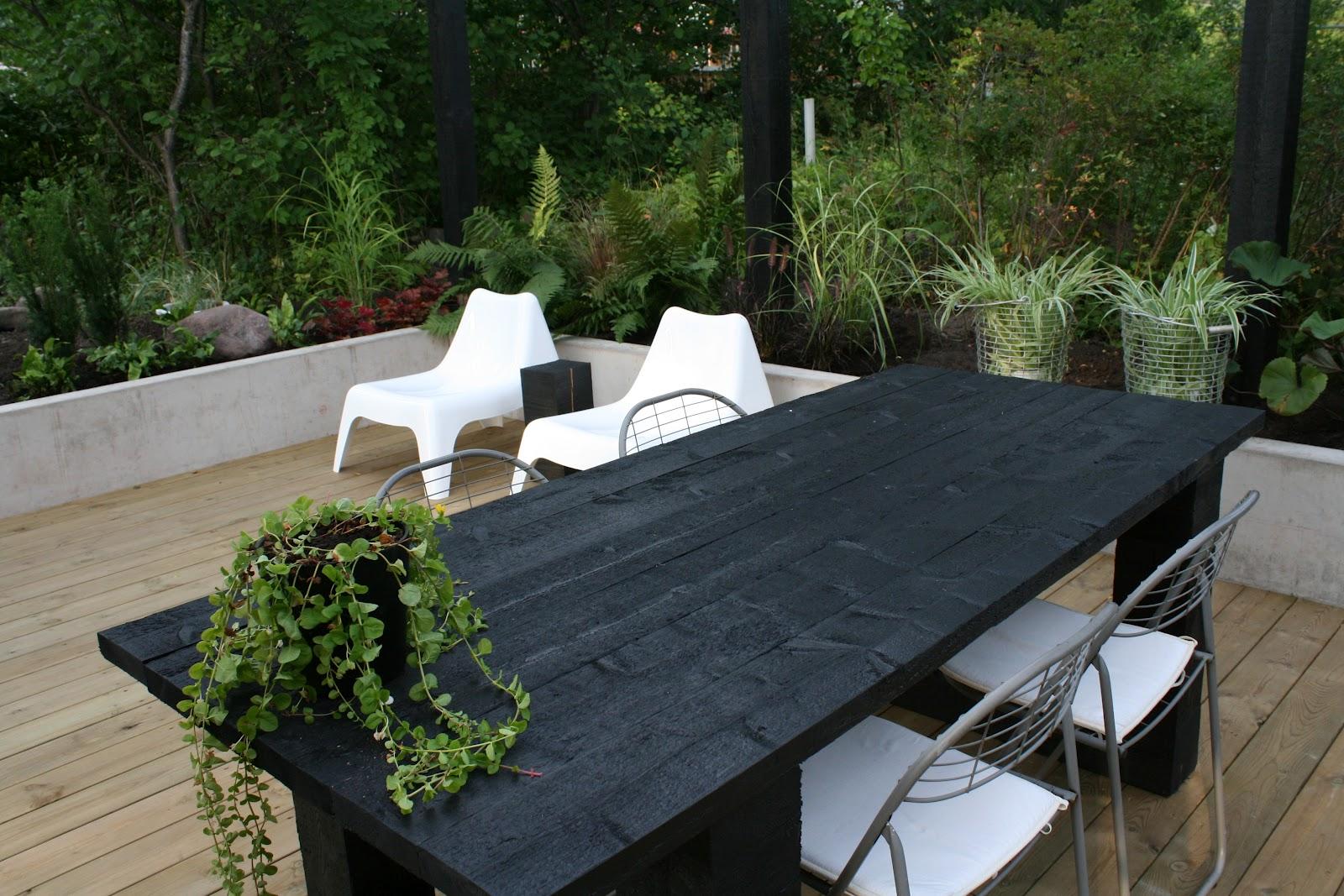 Miaw inredning & design: litet trädgårdsprojekt