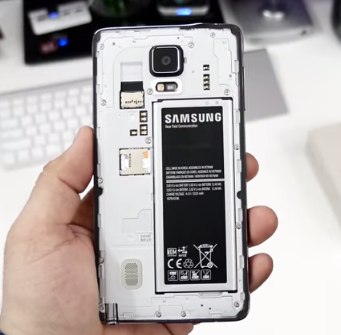 Samsung Galaxy Note 4:Battery