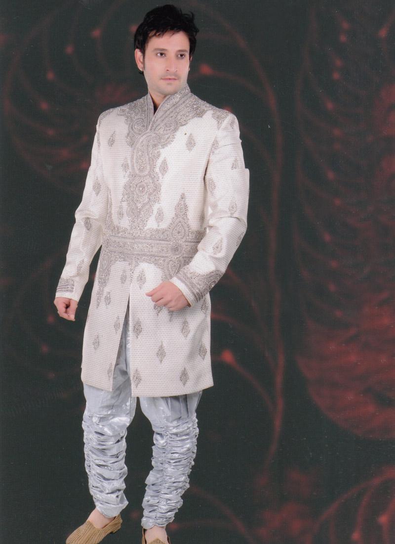 Indian wedding dress sherwani groom sherwani for Indian wedding dress for mens