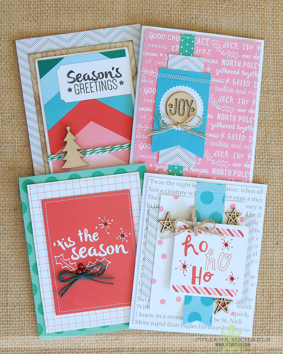 Christmas card ideas elles studio good cheer collection christmas card ideas using elles studio good cheer collection by juliana michaels m4hsunfo