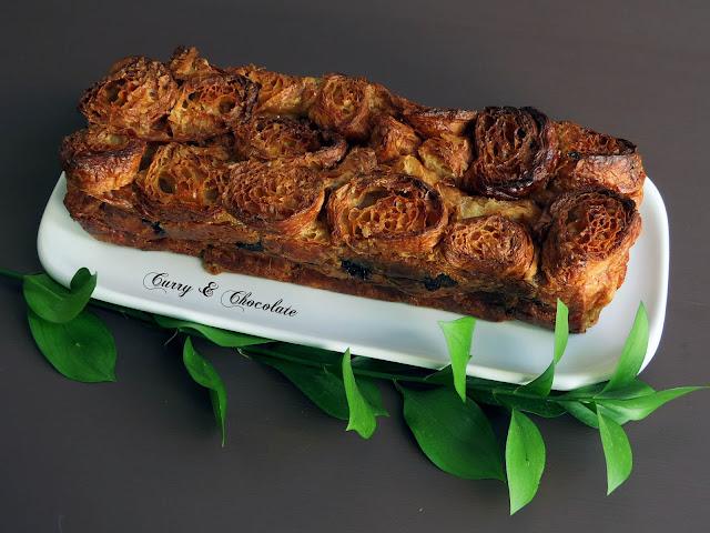 Pastel de cruasanes – Croissant cake