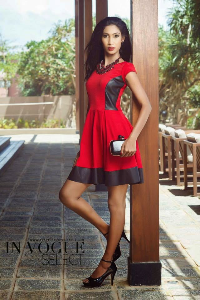 Ishanka De Alwis short dress