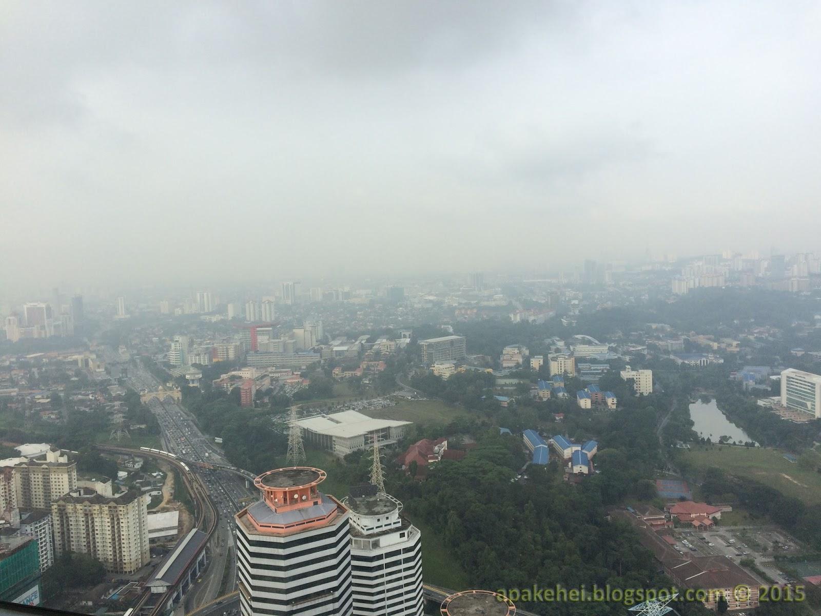 Aura sejuk di Kuala Lumpur
