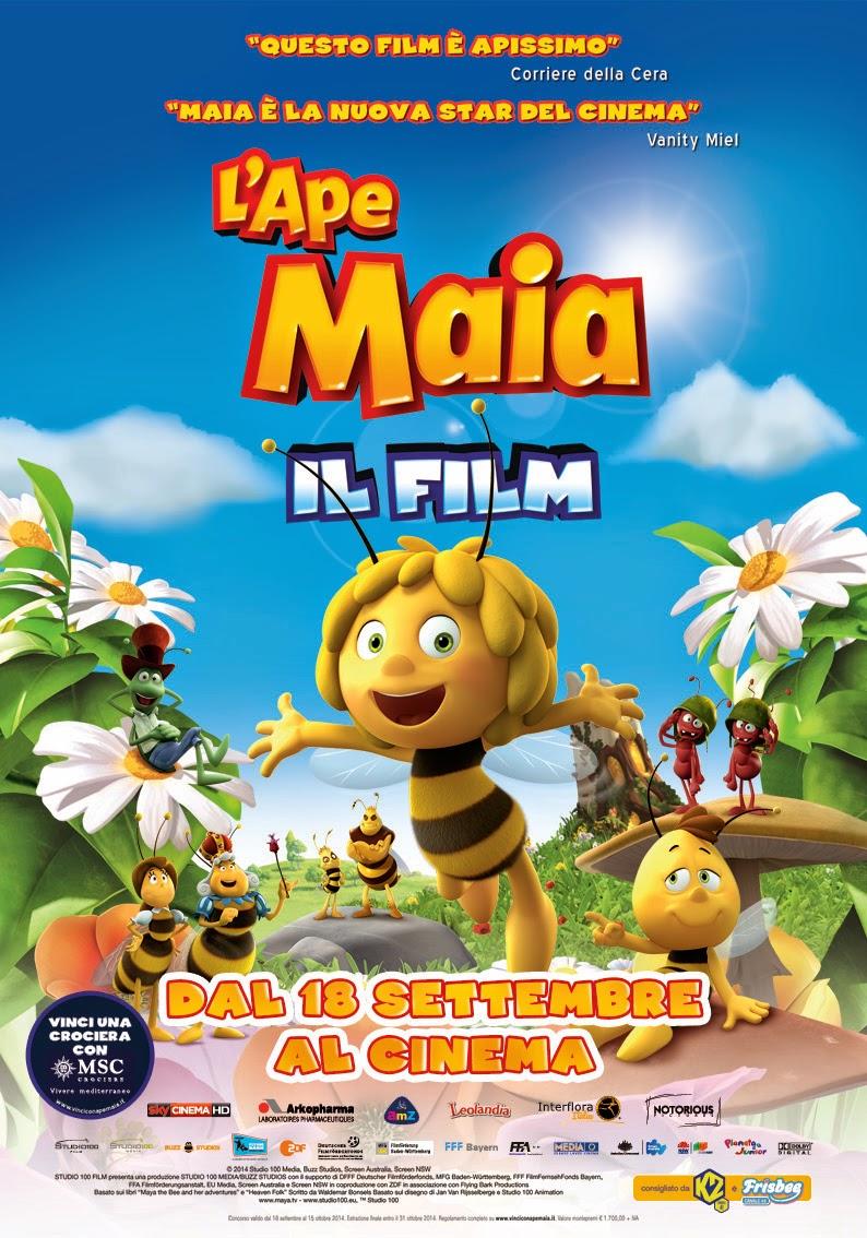 APE MAIA 3D, IL FILM D'ANIMAZIONE IN COMPUTER GRAFICA AL CINEMA IN ITALIANO