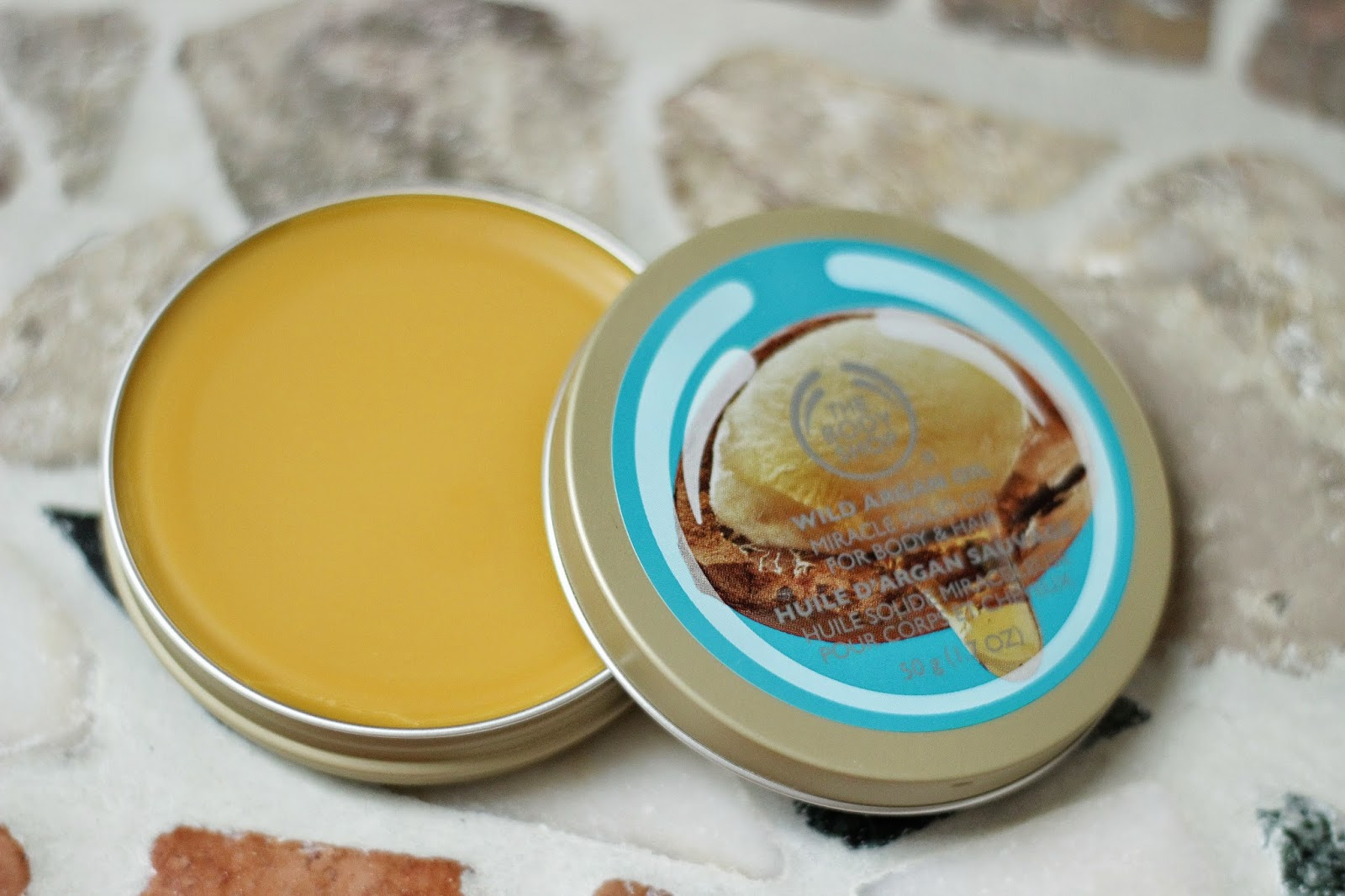 review ervaring the body shop wild argan oil lijn, review ervaring the body shop wild argan oil miracle solid oil