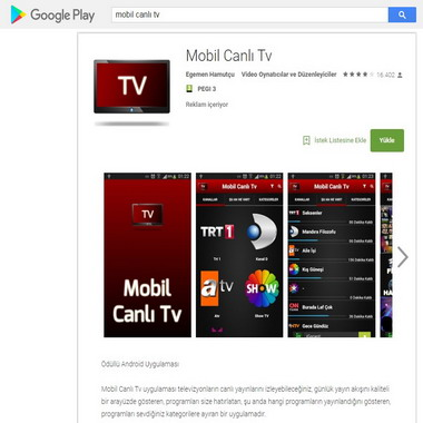 play google com - mobil canlı tv