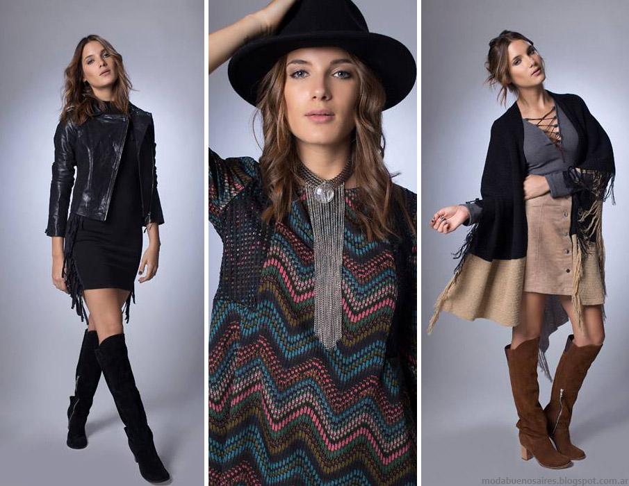 Moda otoño invierno 2016 La Cofradía otoño invierno 2016 ropa de mujer.