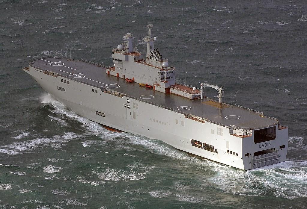 Rusia Mampu Membangun Kapal Perang Kelas Mistral Sendiri