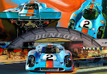 917 Le Mans Canvas From Only £25