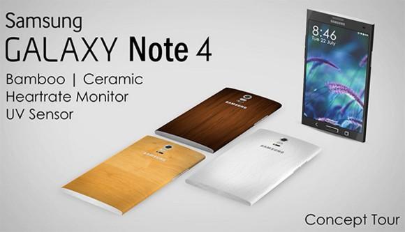 Galaxy Note 4 en bambú